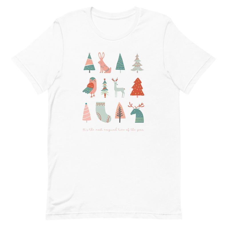 Christmas T Shirt Merry Christmas Shirt Cute Xmas Tee Etsy In 2020 Christmas Shirts Merry Christmas Shirts Christmas Tshirts