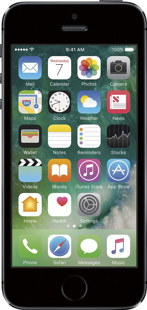 Verizon Prepaid - Apple iPhone 5s 16GB Memory Prepaid Cell Phone - Space Gray