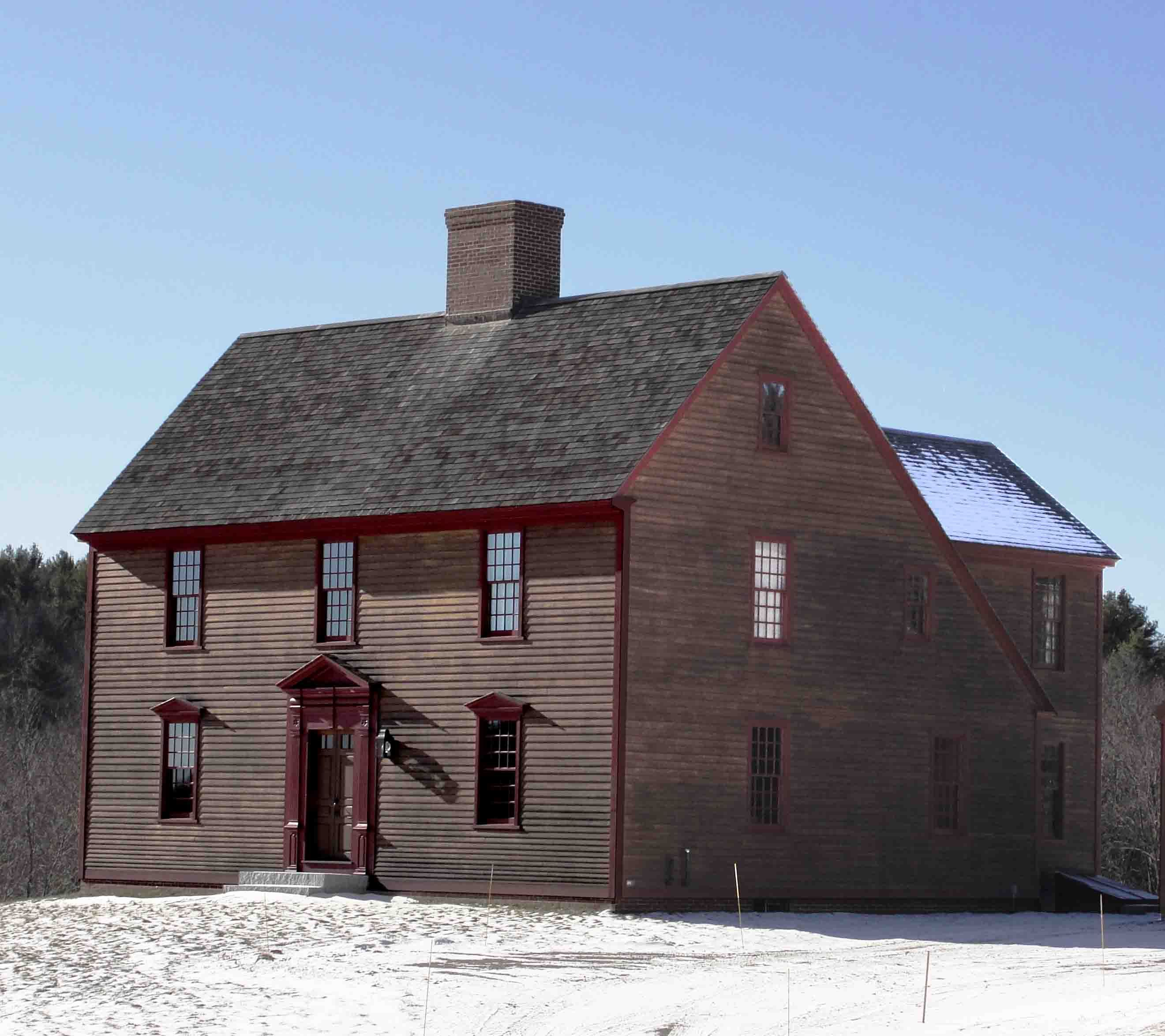 American Colonial Homes Design