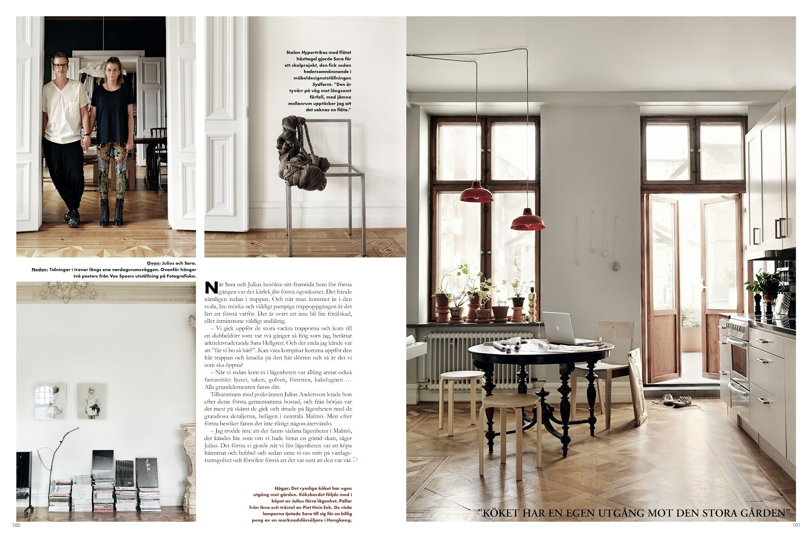 Emma Persson Lagerberg Kitchen Interior House Home