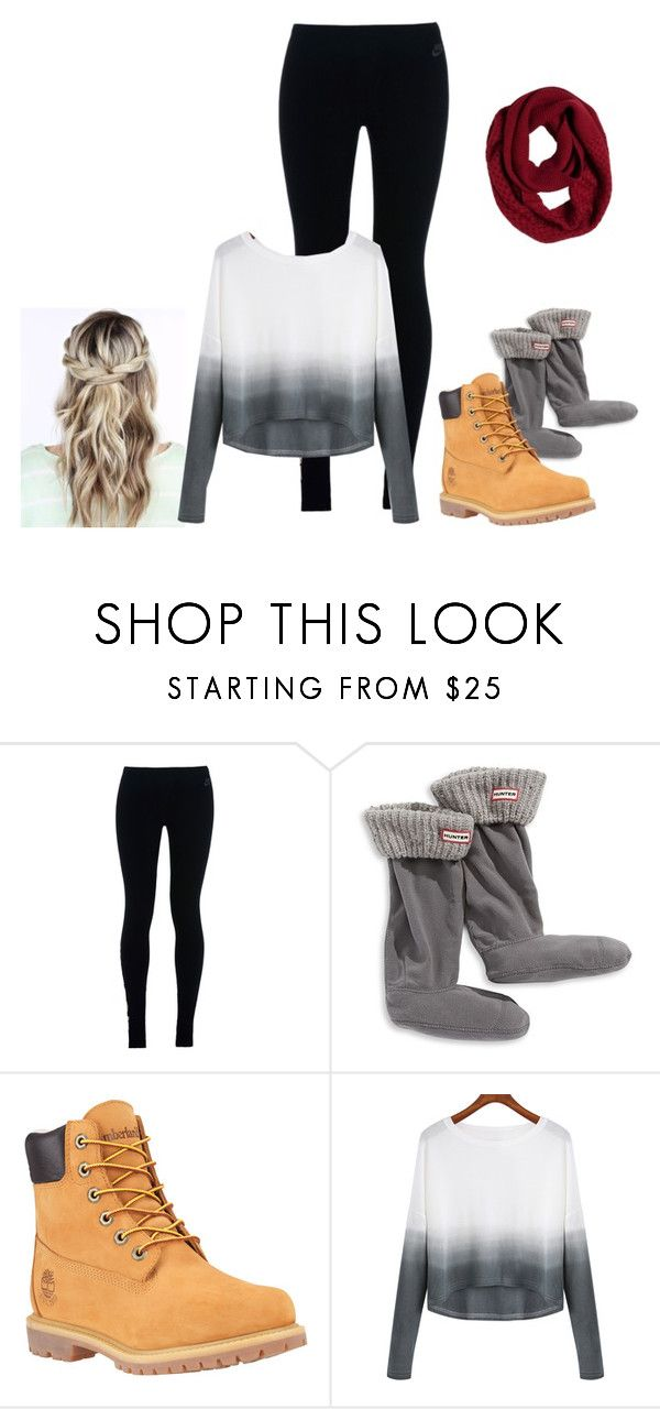 """""""Untitled #333"""" by hockeymusiclife ❤ liked on Polyvore featuring NIKE, Hunter, Timberland and prAna"""