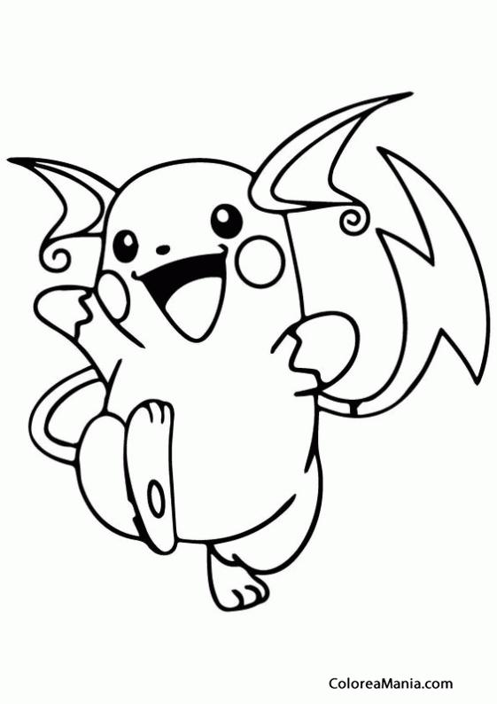 How To Draw Raichu From Pokemon