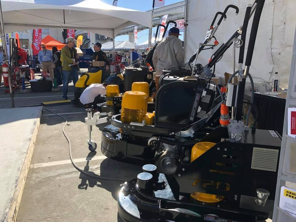 Xtreme Polishing Systems at World of Concrete 2018 World