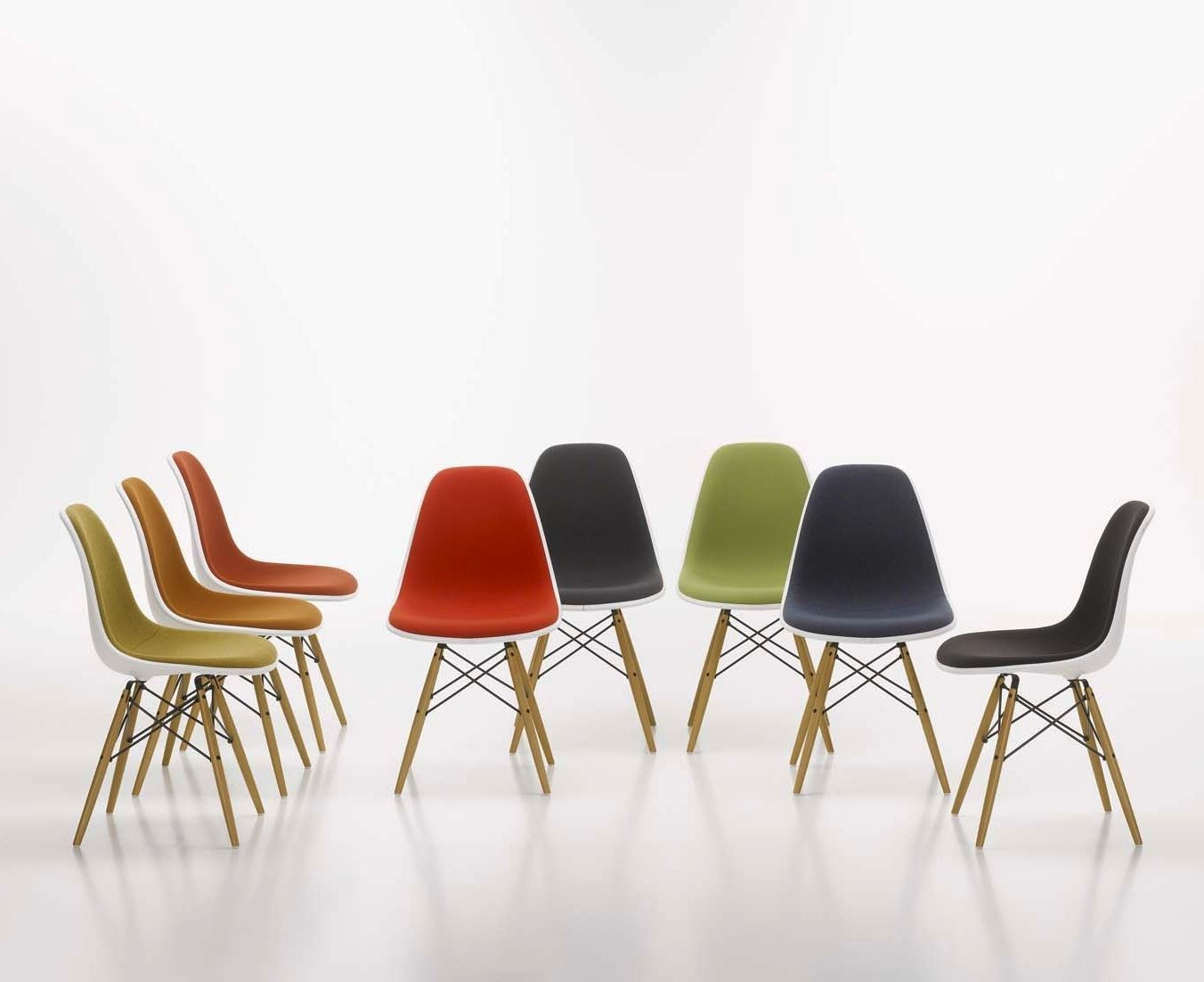 Vitra Charles Eames Dsw Chair. eames plastic side chair dsw limited ...
