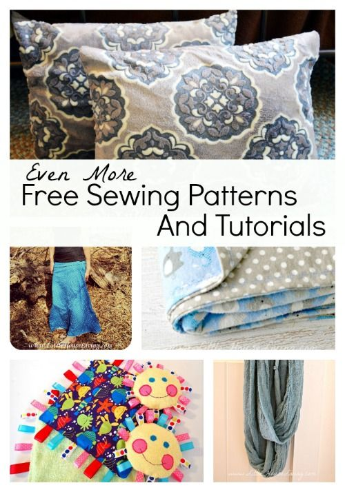 Even More Free Printable Sewing Patterns and Tutorials | Costura ...