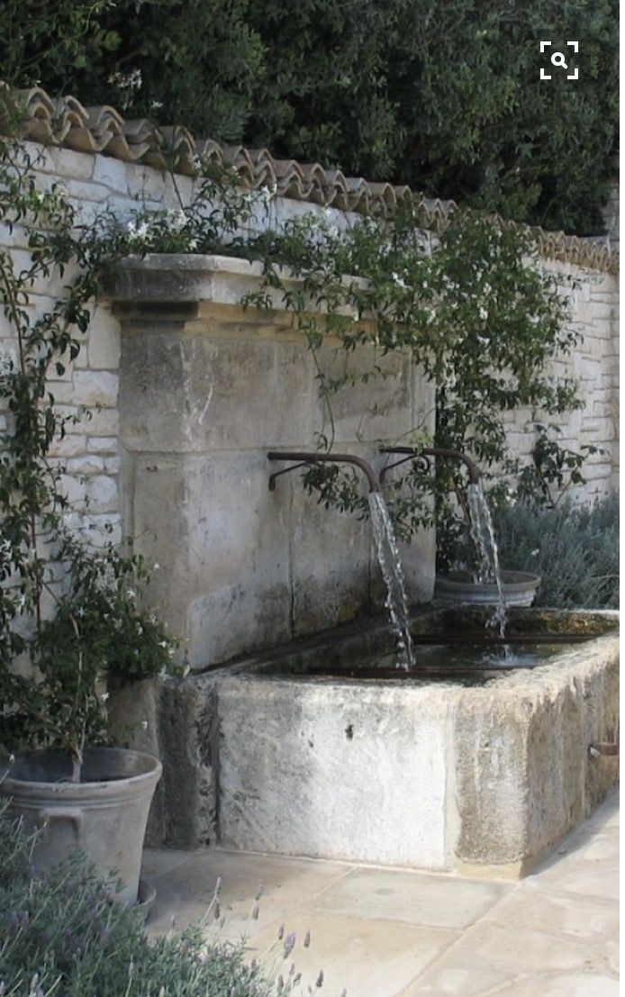 Soothing water sounds for a walled garden garden ideas