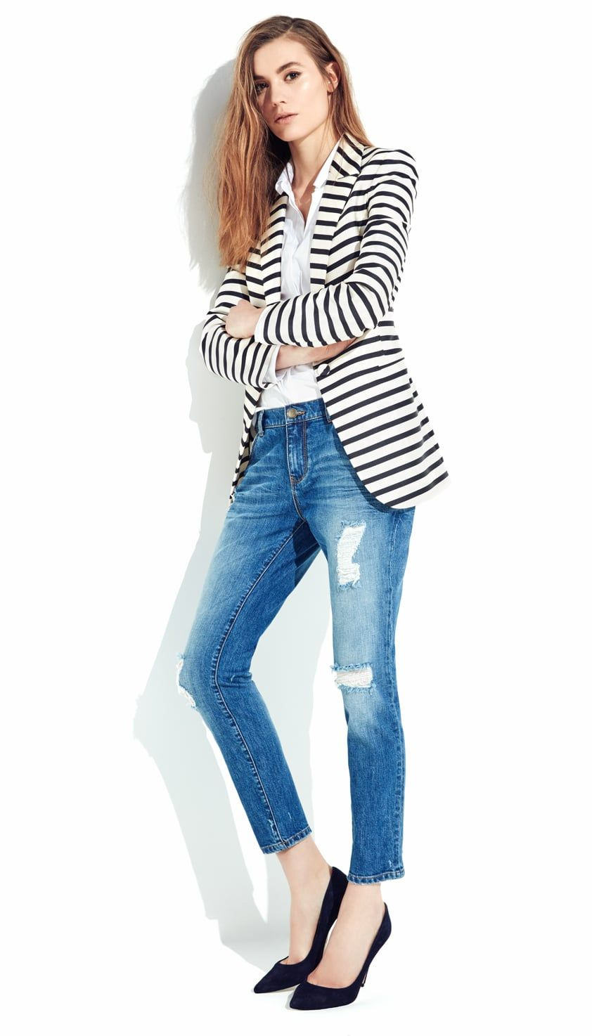 Bayan Jean Pantolon Modelleri Kot Denim Fashion Women Bell Sleeve Top