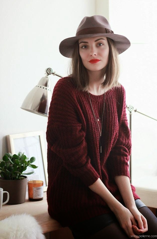 FALL ESSENTIALS:  THE FEDORA HAT  by www.Fashion-with-Style.com  #fedora #fashion #fall2014 #trend #hat #inspiration #moda #polienne