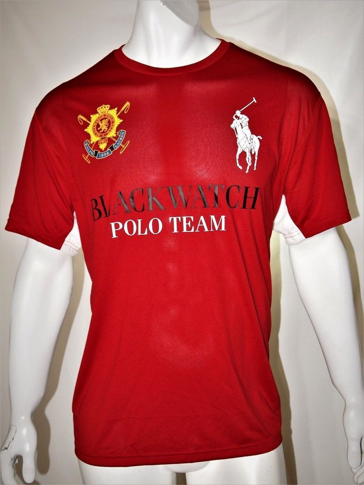 e0b13331b6de60 Polo Ralph Lauren blackwatch polo team signature athletic men s t shirt  size xxl  PoloRalphLauren  GraphicTee