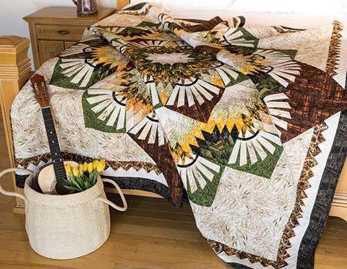 Woodcarver's Star Quilt Kit