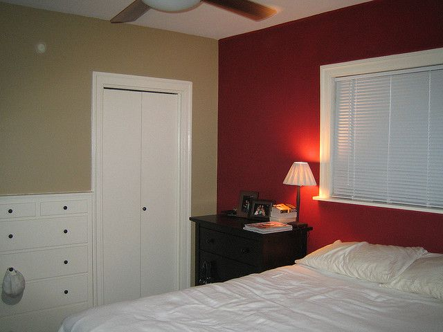 Red Accent Wall By Rob Bremer Via Flickr Red Wall With More Beige Walls Interesting