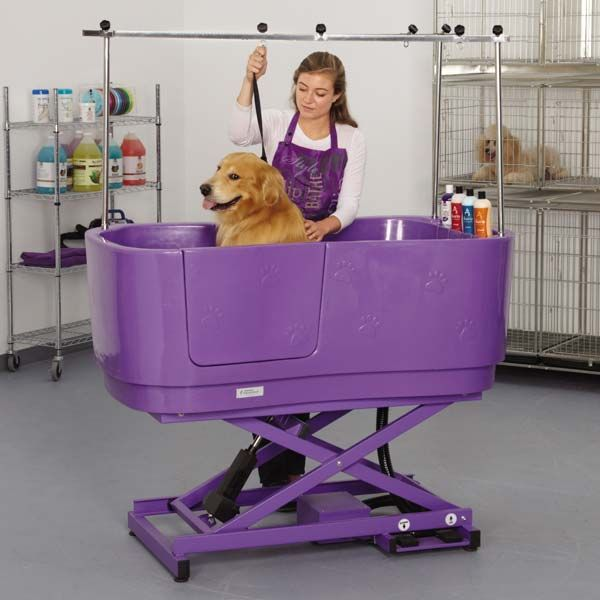 Master Equipment Polypro Lift Grooming Tubs Dog Grooming