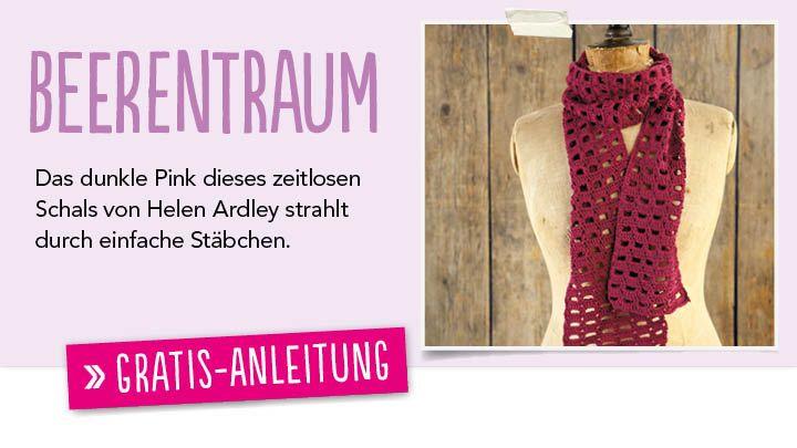 Newsletter Gratis Häkel Anleitung Schal Simply Häkeln 0114
