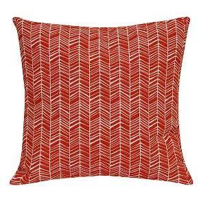 Outdoor Pillow - Red Herringbone - Room Essentials™ : Target