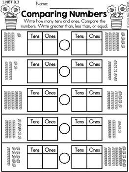 Spring Math Worksheets 1st Grade Distance Learning 1st Grade Math 1st Grade Math Worksheets Teaching Math
