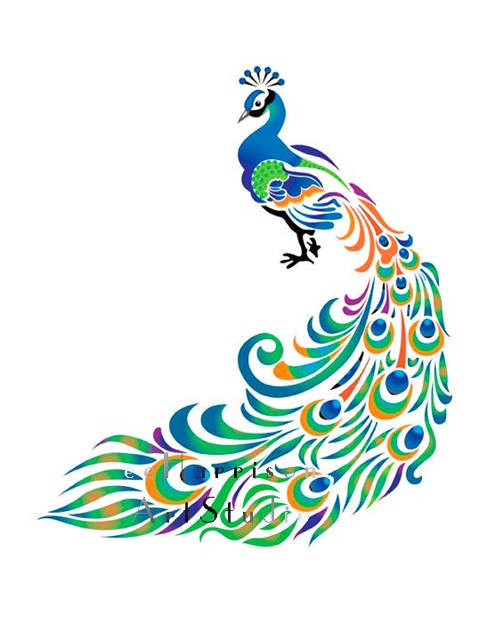 Pin by Janet Grassmid on Peacock | Pinterest | Pavo real, Bordado ...