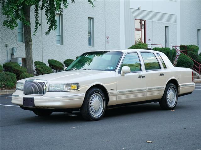1997 Lincoln Town Car Cartier 43k Miles No Reserve See Youtube Video