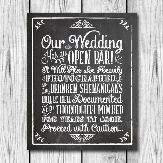 Wedding Decor Signs Inspiration 40 Wedding Decor  Directional Signs You're Going To Want At Your Decorating Inspiration