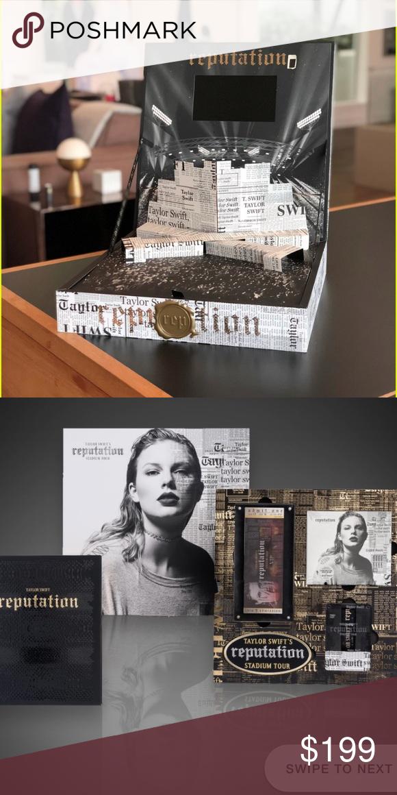 Taylor Swift Vip Box Brand New Exclusive Box Branding Taylor Swift Vip