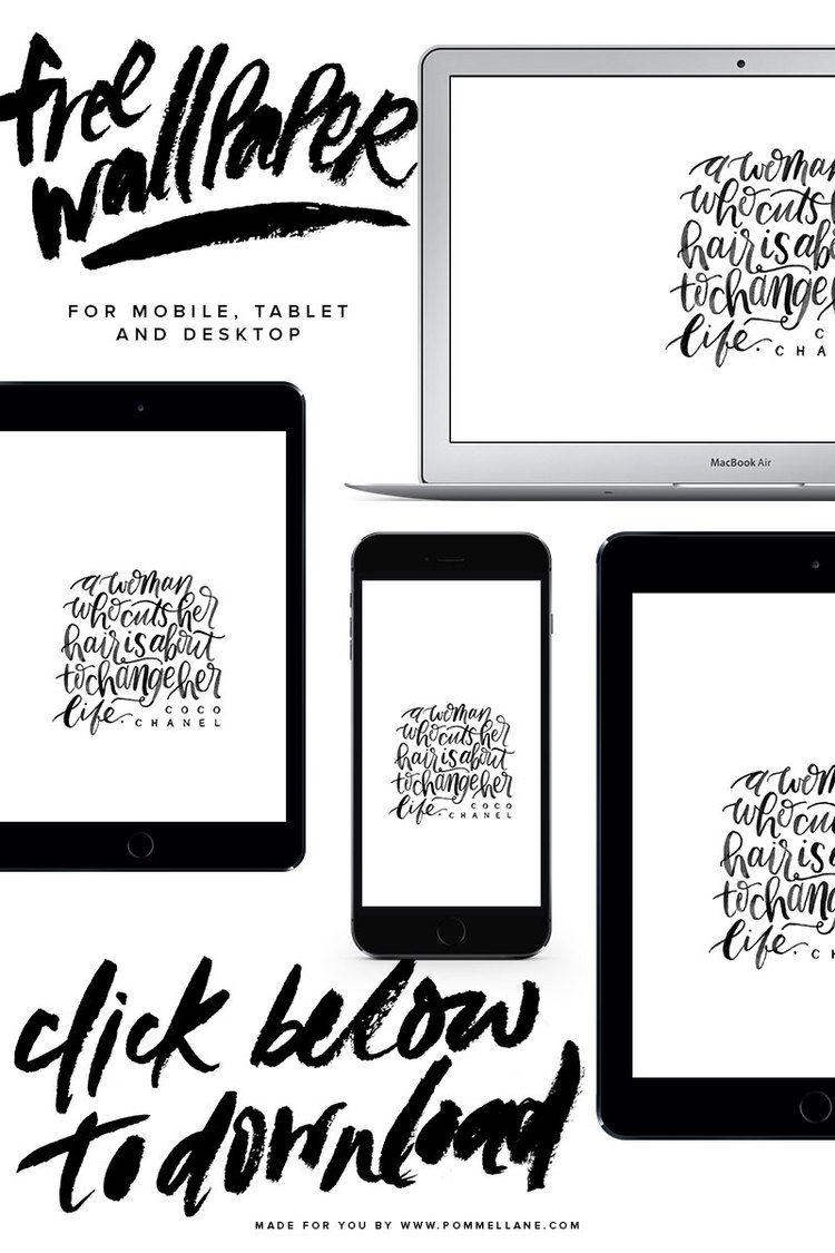 Motivational Monday 17 Lettering Lettering Design Tablet Wallpaper