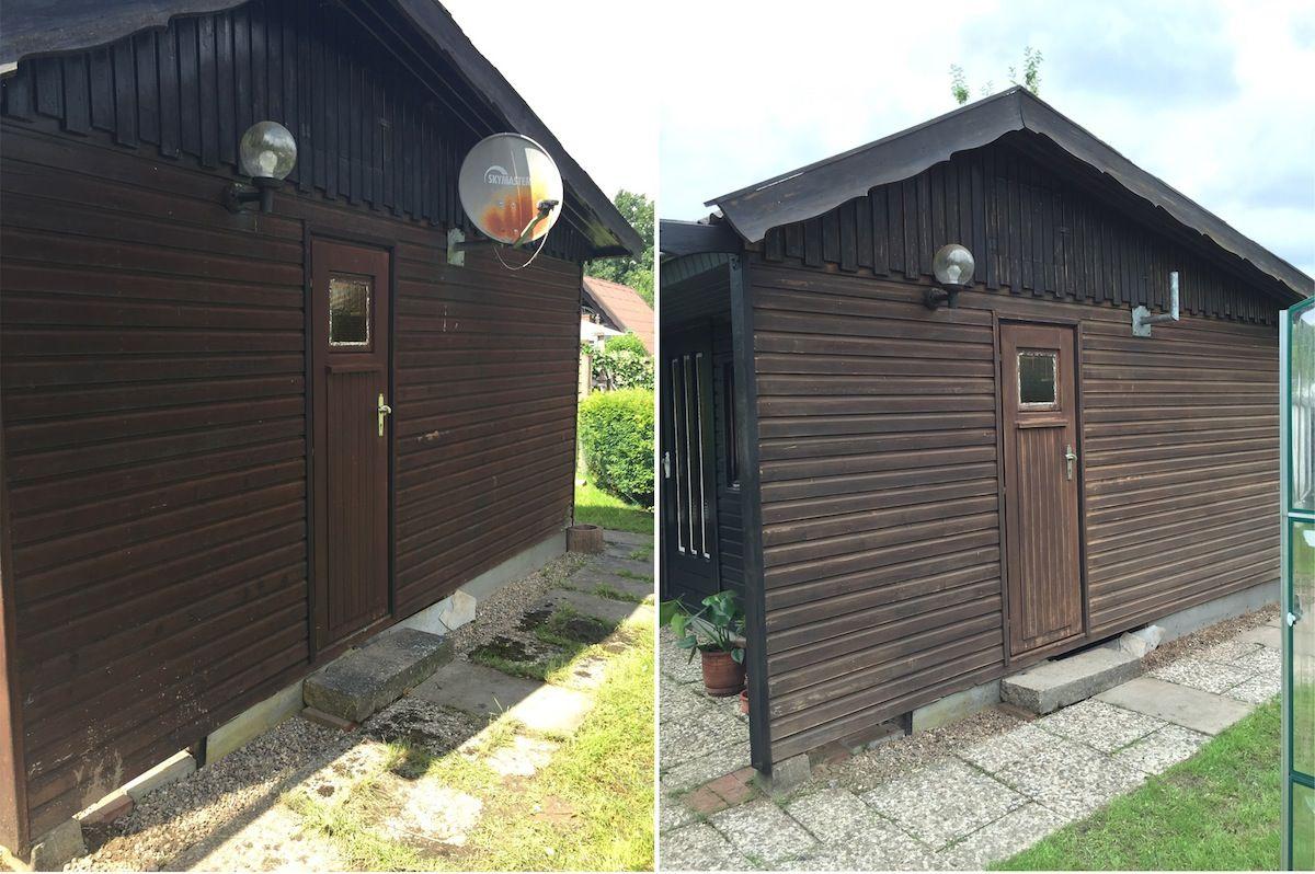 Endlich kann ich euch Bilder von unserem renovierten Sommerhäuschen zeigen! Ende…