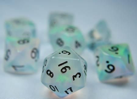 I Found Themmm Rpg Dice Set Moonstone Green Role Playing Game Dice Rpg Roleplaying Game Dungeons And Dragons