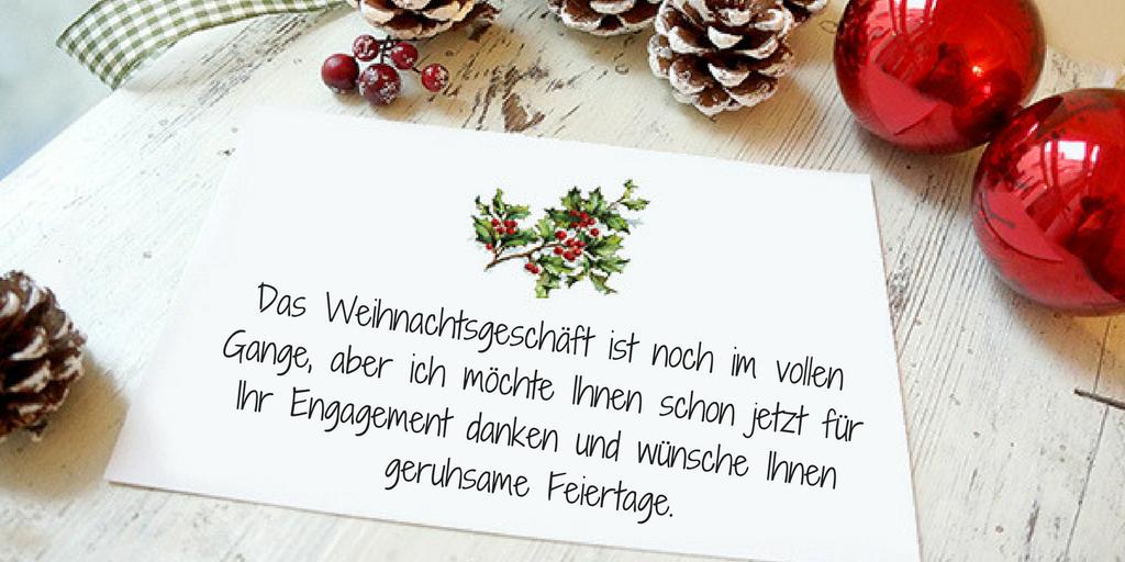 Schöne Weihnachtssprüche: Wie schreibt man