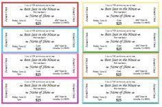 event ticket template printable printables pinterest ticket