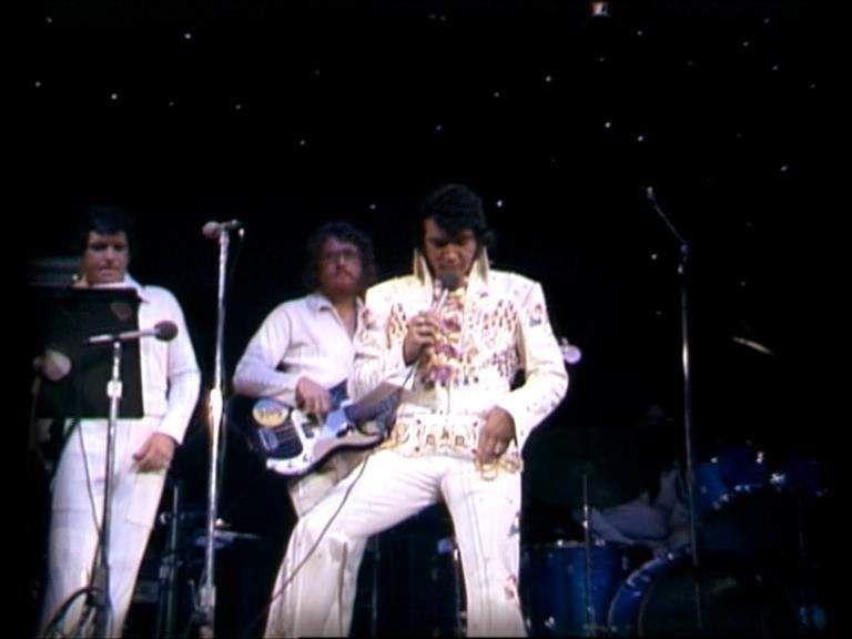 Honolulu ( Hawaii ) january 12 1973 , Aloha from Hawaii rehearsal show.
