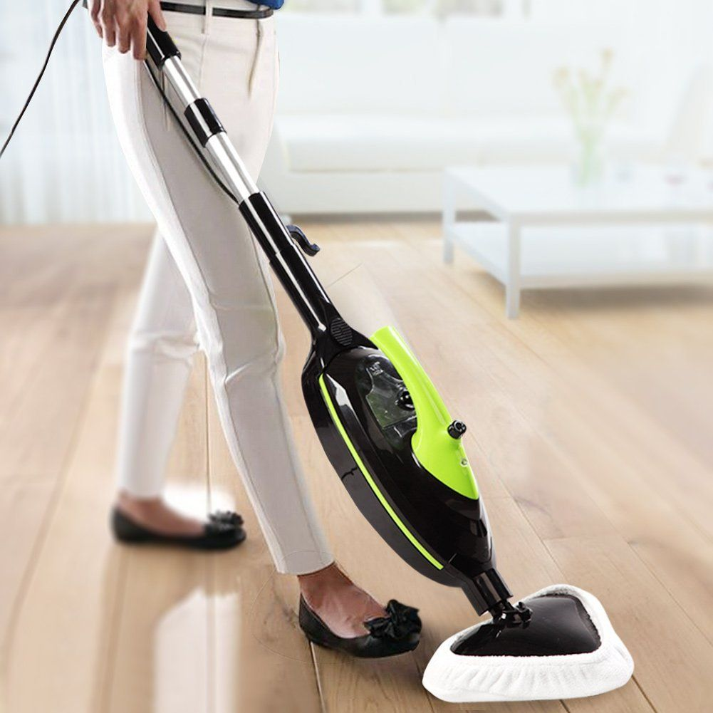 Amazon.com - SKG 1500W Powerful Non-Chemical 212F Hot Steam Mops & Carpet and Floor Cleaning Machines (6-in-1 Accessories) -