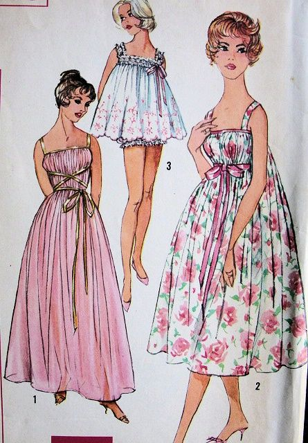 Here is the Site to make this purchase!! 1960s LOVELY NIGHTGOWN ...