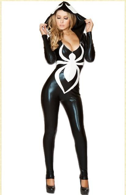 359ec4531cd Special Use  Costumes - Gender  Women - Model Number  Spider Women Costume  CS042 - Brand Name  aubalee - Components  Jumpsuits   Rompers - Source  Type  ...