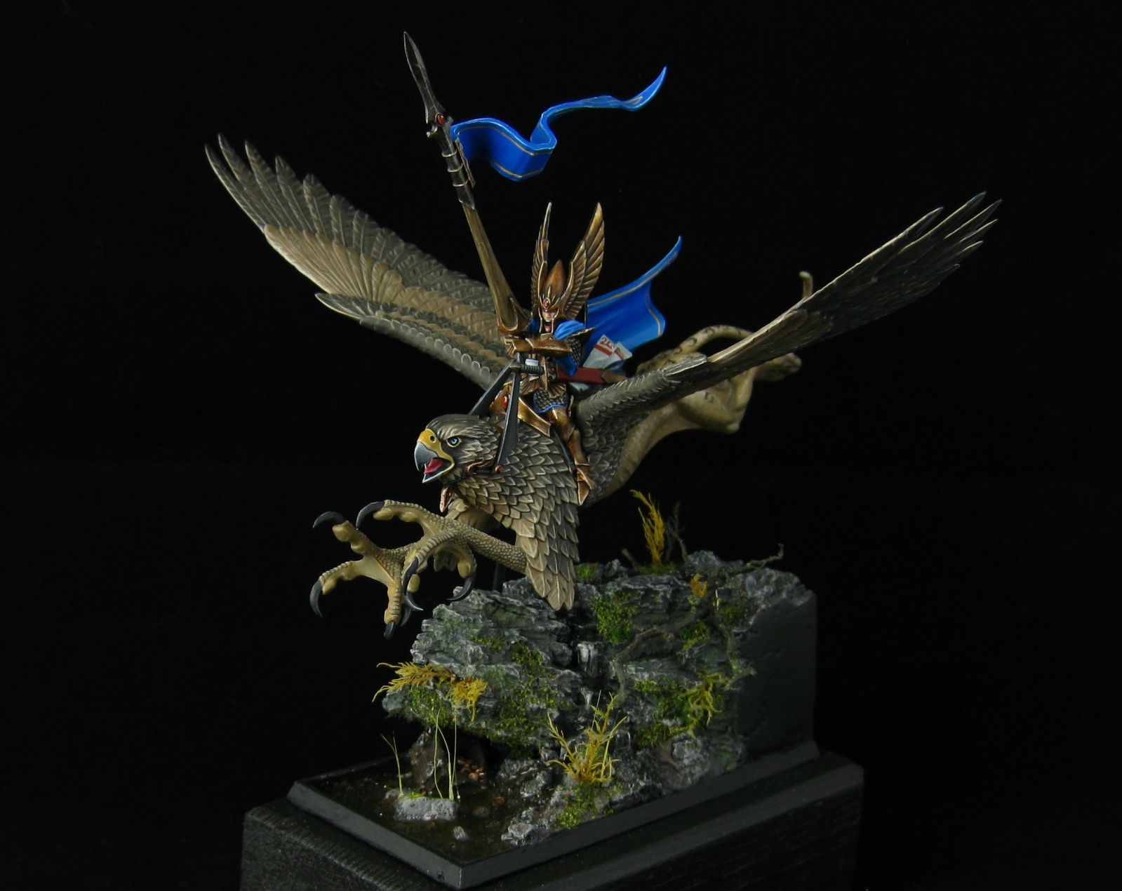 Pinturas Para Warhammer High Elf Prince On Griffin By Black Dagger Military