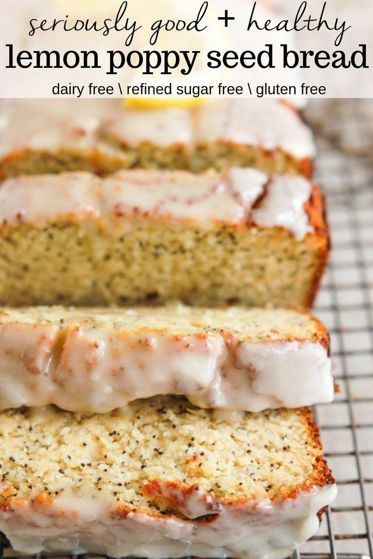 Gluten Free Lemon Poppy Seed Bread   Erin Lives Whole#bread #erin #free #gluten #lemon #lives #poppy #seed #whole