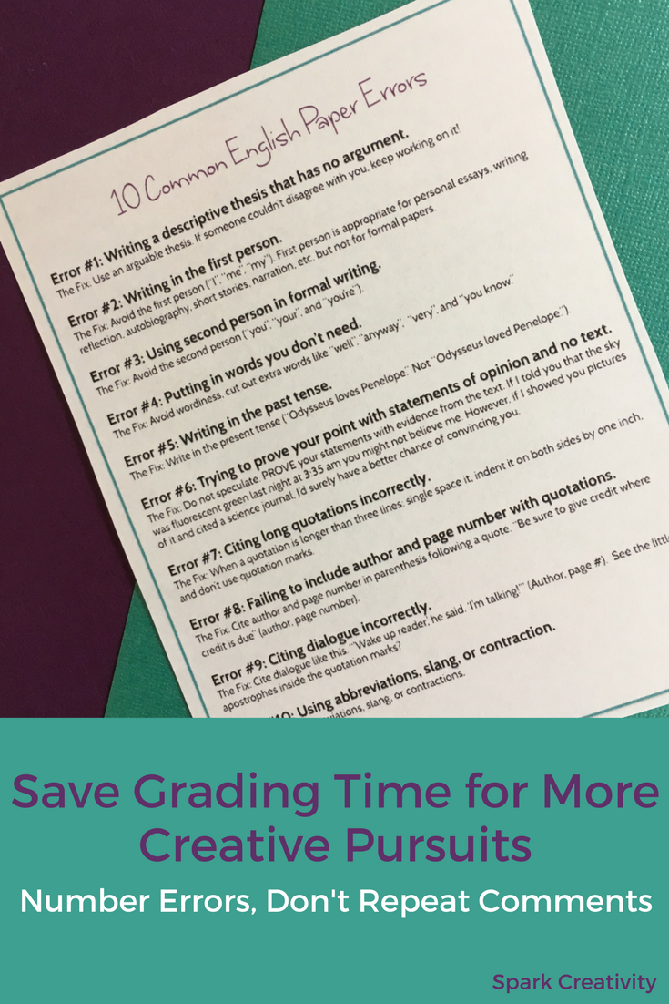 Don't let Grading Papers Drive You Out of Teaching | You can do it ...