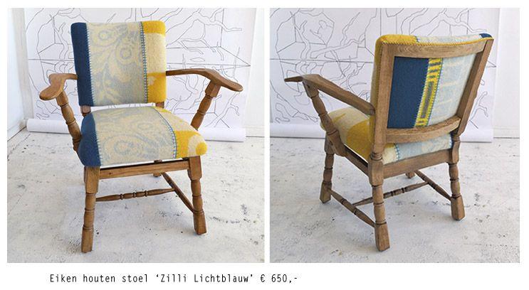 Stoel Bekleden Stof : Afbeeldingsresultaat voor stoel bekleden met oude deken vintage