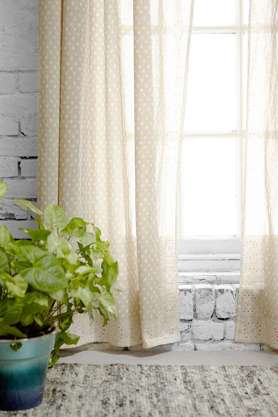 Magical Thinking Calicut Curtain - Urban Outfitters