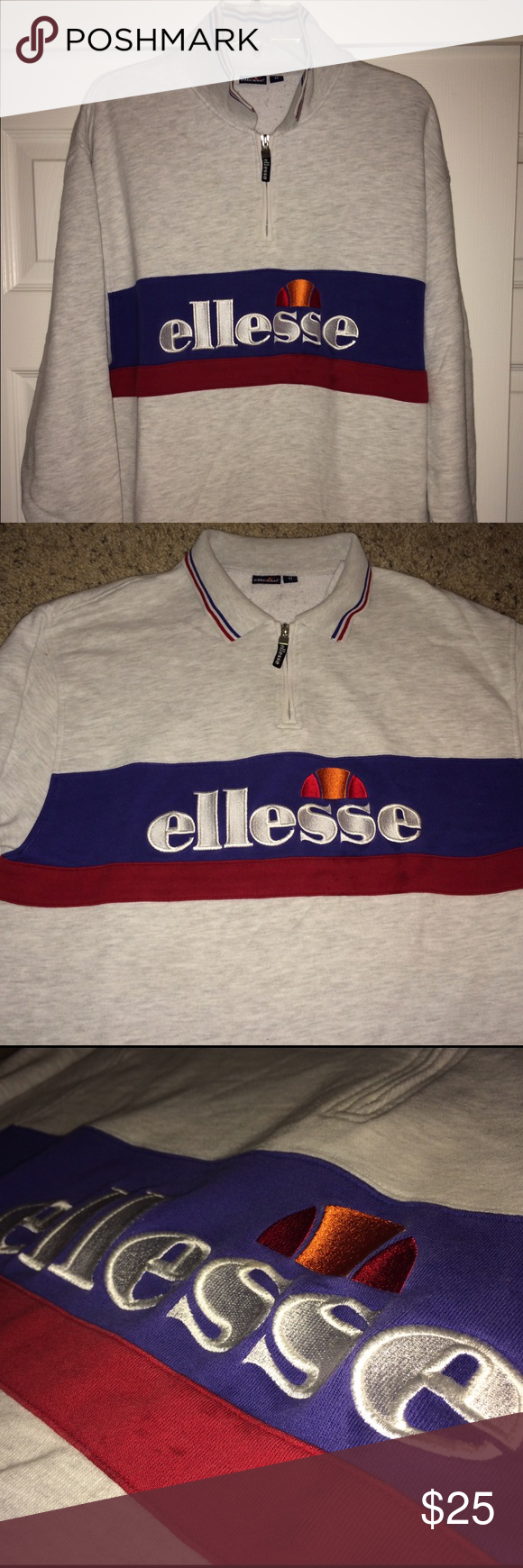 "Vintage Ellesse sweaters Vintage Ellesse sweaters..size adult Medium..armpit to armpit 21.5""...top to bottom 27.5""...Good used condition. Ellesse Sweaters"