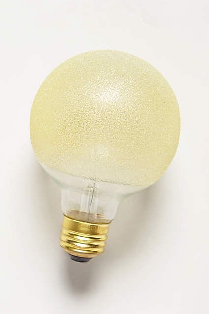 Etched Amber Light Bulb - anthropologie.com