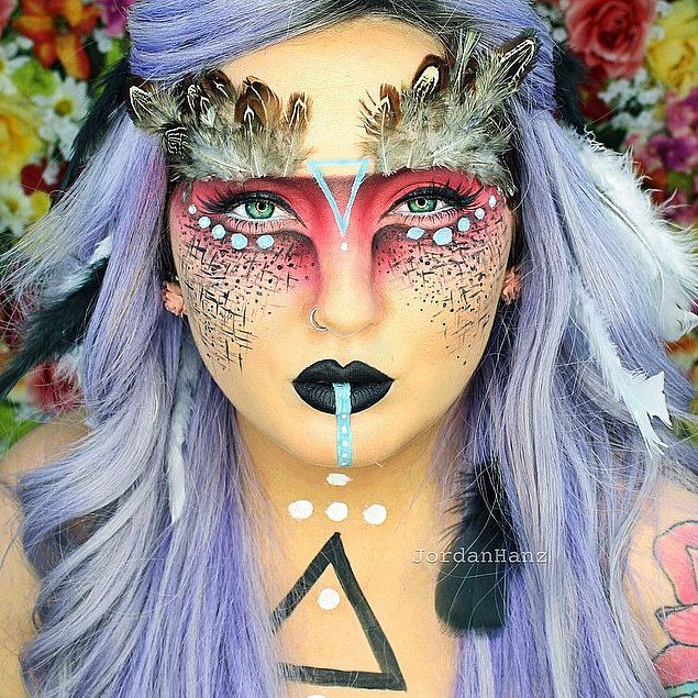 wicked makeup transformations to inspire your halloween costume - Beauty Halloween Costume