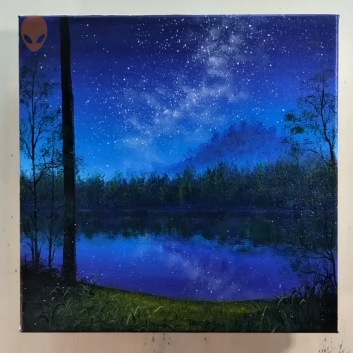 10 Pretty Landscape Paintings For Home Decor Painting Tutorial Videos In 2020 Pretty Landscapes Beautiful Landscape Paintings Landscape Paintings Acrylic