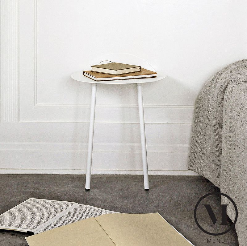 Yeh bedside table //menu.as/small-table/77-yeh-wall-table-low ... on grey walls with fireplace, grey walls with design, grey walls with wood furniture, grey walls with art ideas,