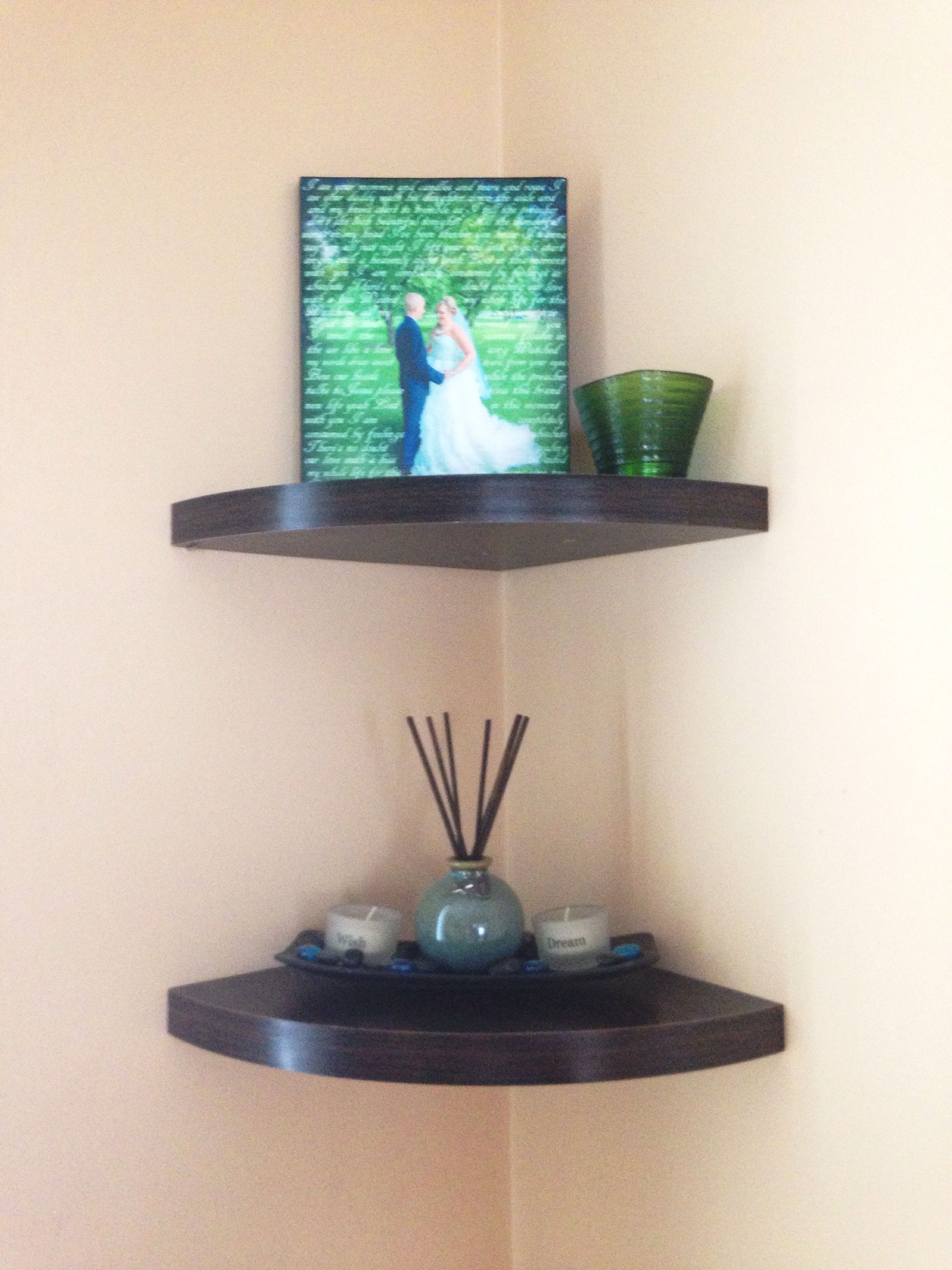 Floating Shelves Target Floating Corner Wall Shelf From Target  Folliard House  Pinterest
