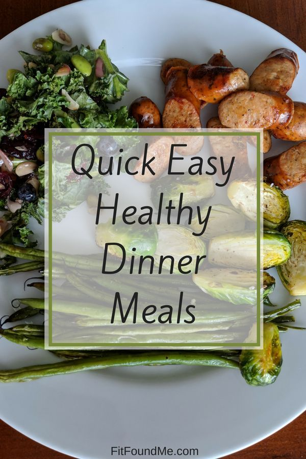 Did someone say quick and healthy meals? Let's do this for our health without making it complicated....