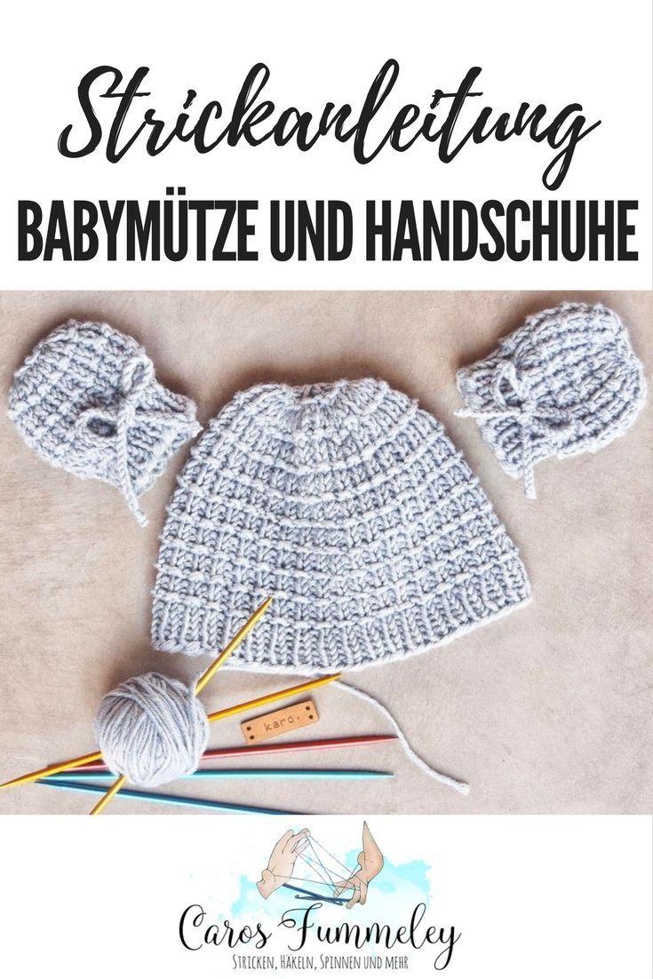 Fantastisch Babymütze Und Booties Strickmuster Zeitgenössisch ...
