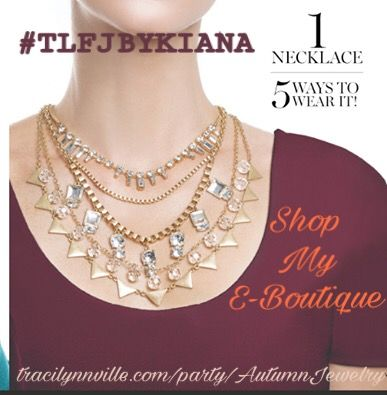 🍂 Autumn is here! 🍂 Shop my E-Boutique today for your Autumn Fashion! #TLFJByKiana #ShopMyEBoutique #ProvidingYouTheTraciLynnExperience #LinkInTheBio tracilynnville.com/party/AutumnJewelry
