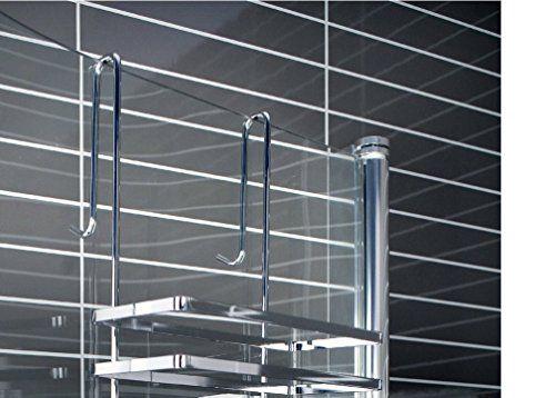 Duschkabinen hängeregal 3 etagen ohne bohren duschablage https