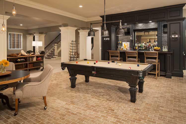 Ideas para decorar una sala de billar en casa Sala de juegos - ideas para decorar la sala