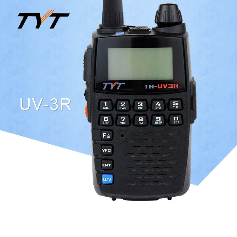 Plus Walkie Talkie CTCSS Dual Band Frequency 2-Way Radio MINI Baofeng UV-3R