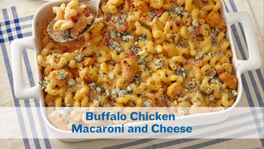 Buffalo Chicken Macaroni and Cheese   Recipe   Macaroni ...